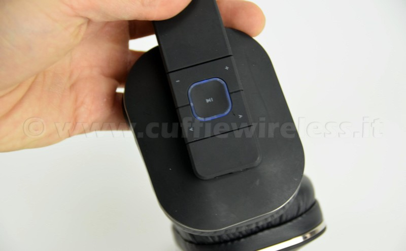 Cuffie wireless controlli